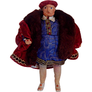 Peggy Nisbet Henry VII Doll