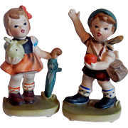 Napcoware Boy and Girl Figurine