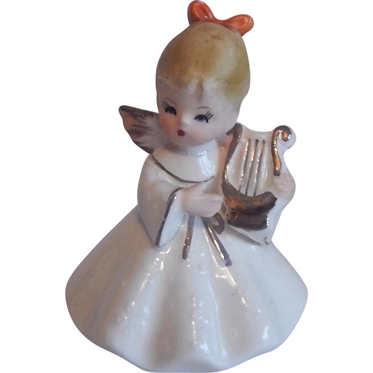 Napcoware Ceramic Angel Figurine