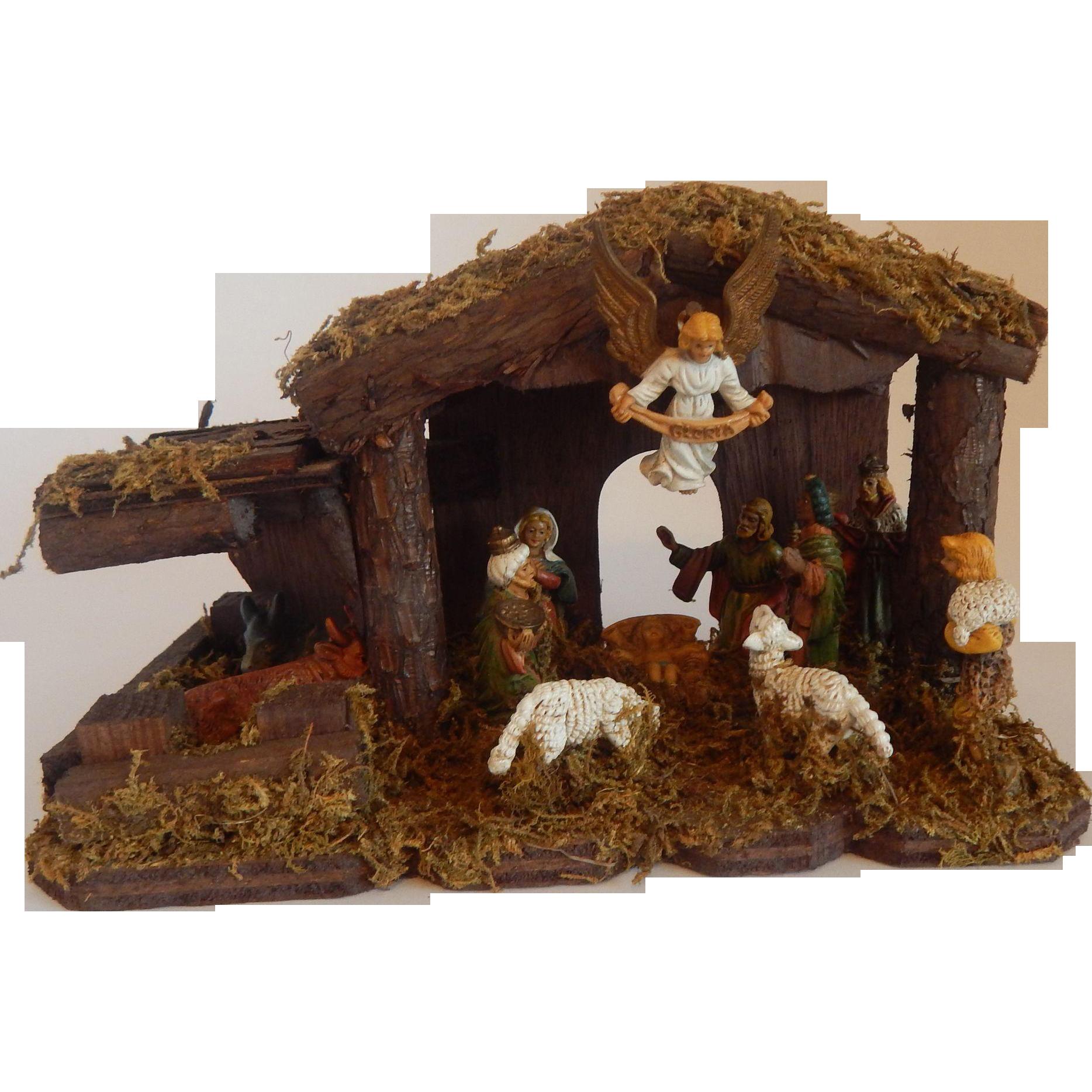 Kurt S. Adler Nativity Creche Scene