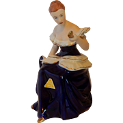 Lady Figurine by Royal Dux