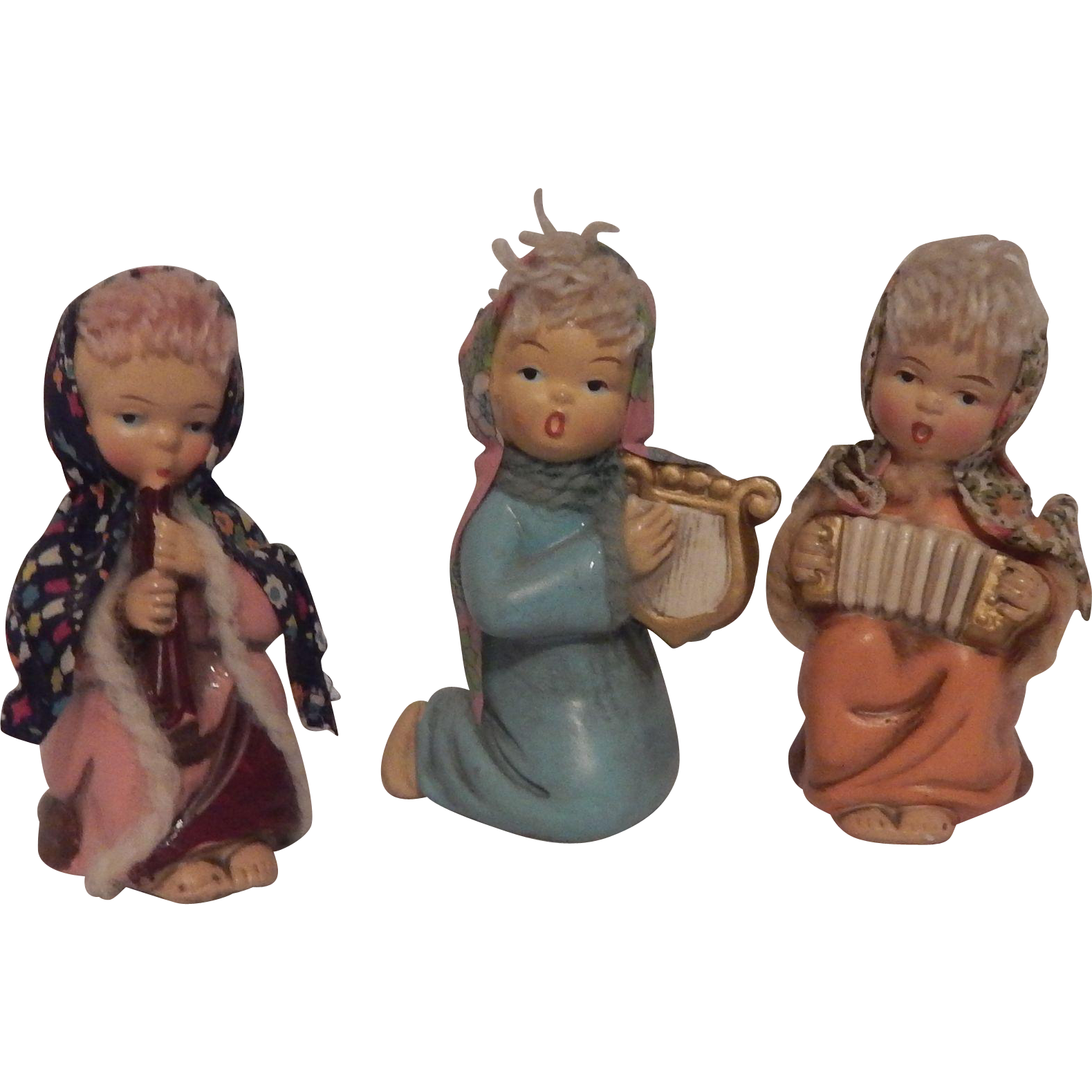 Three Made In Japan Figurines of Girls