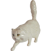 White Persian Cat Figurine by Royal Doulton
