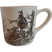Johnson Bros. Game Birds Quail Mug