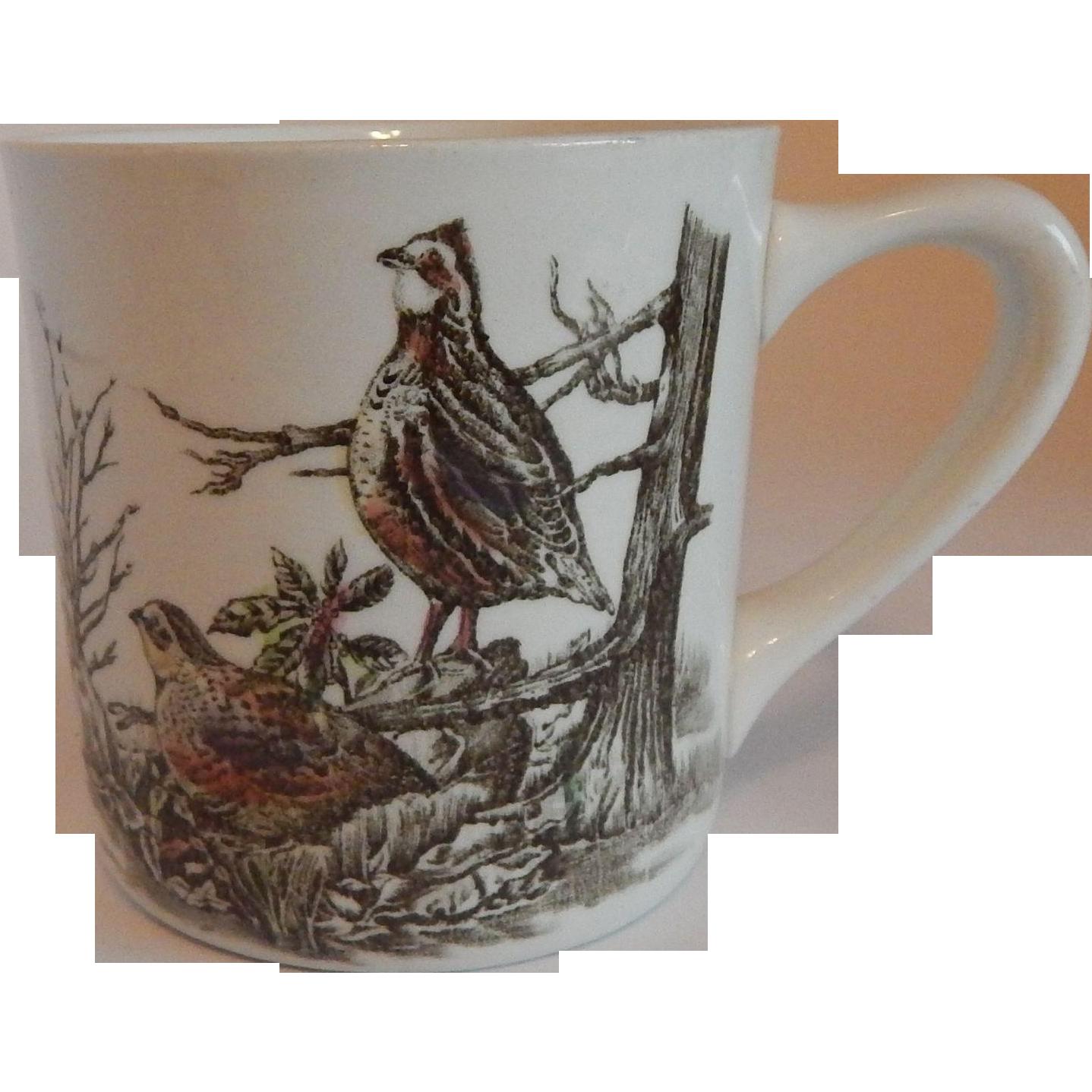 Johnson Bros. Game Birds Quail Mug