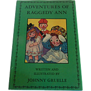 Adventures OF Raggedy Ann Book