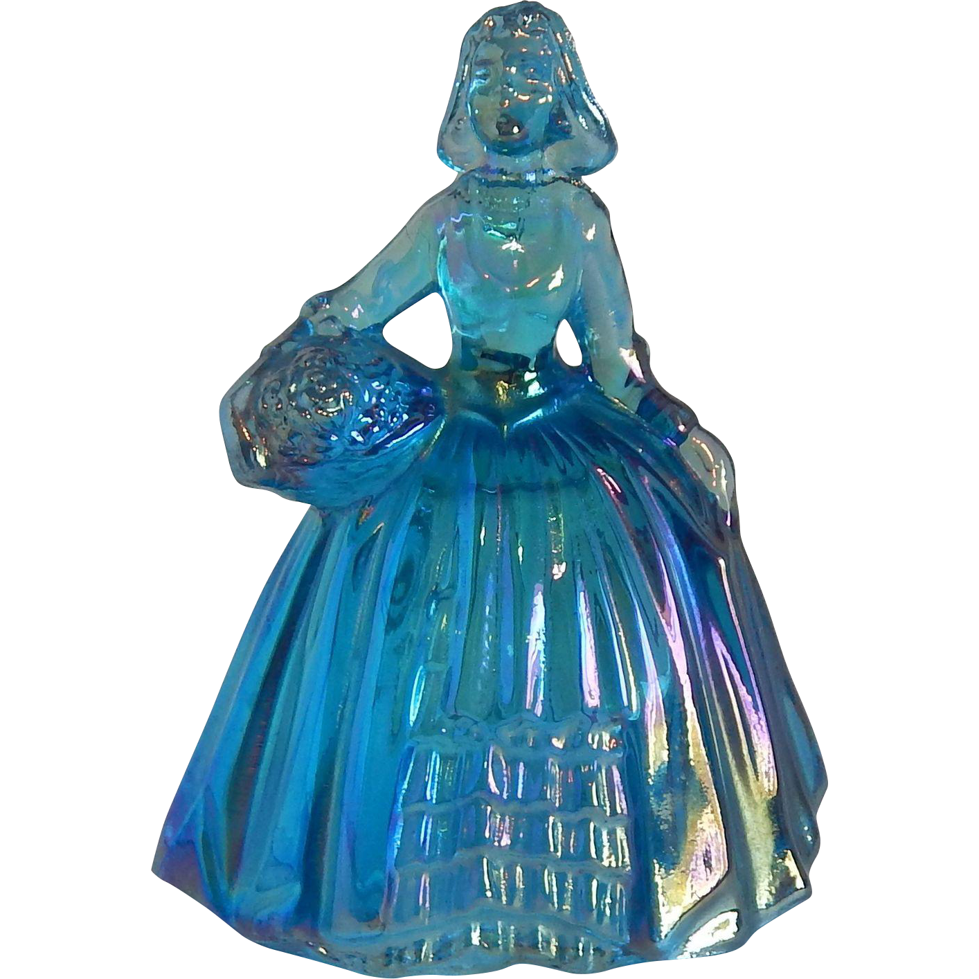 Wheaton Glass Lady Figurine