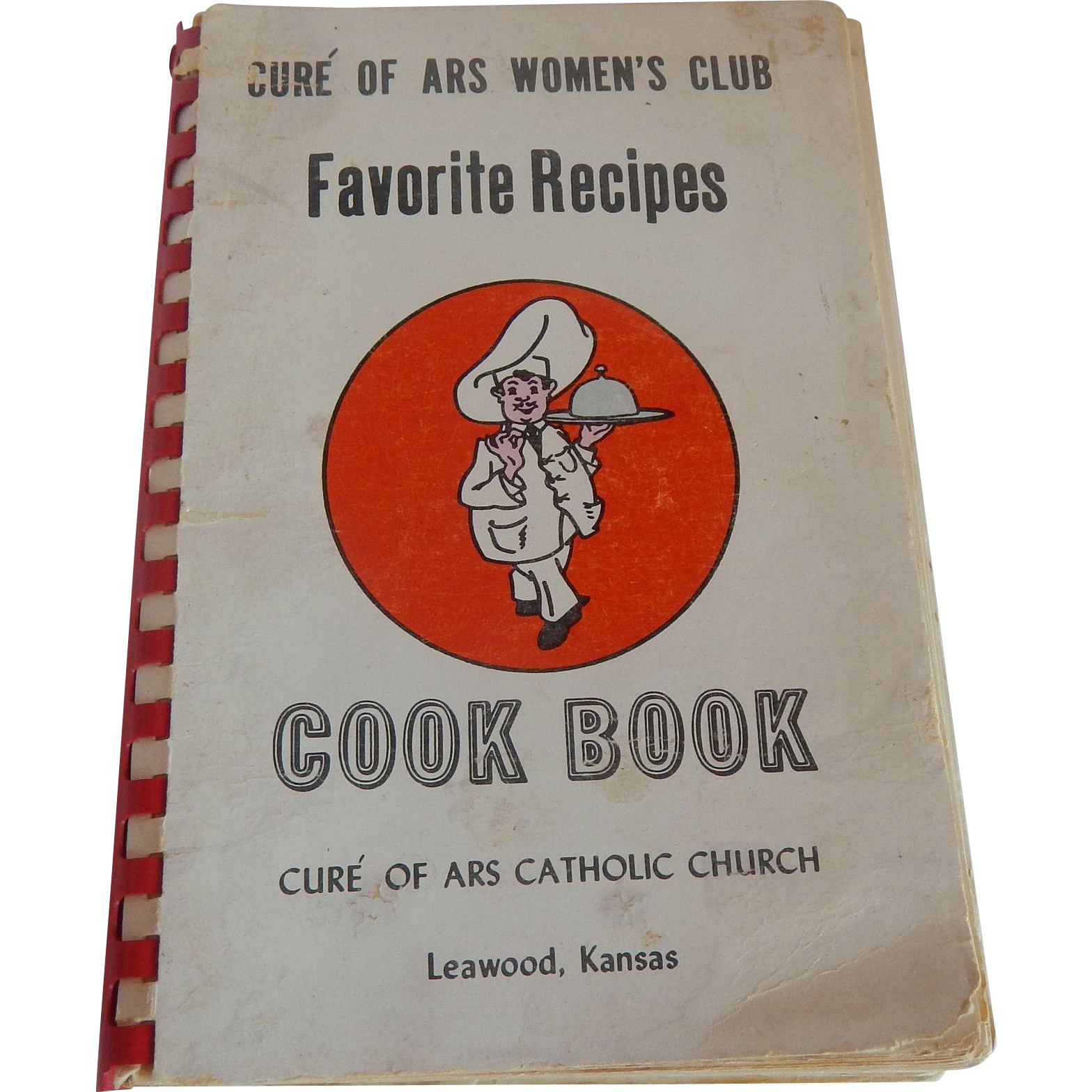 Cure' Of ARS Women's Club Cookbook Catholic Leawood Kansas
