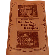 Kentucky Heritage Recipes 1976