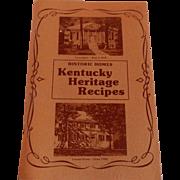 Kentucky Heritage Recipes 1976