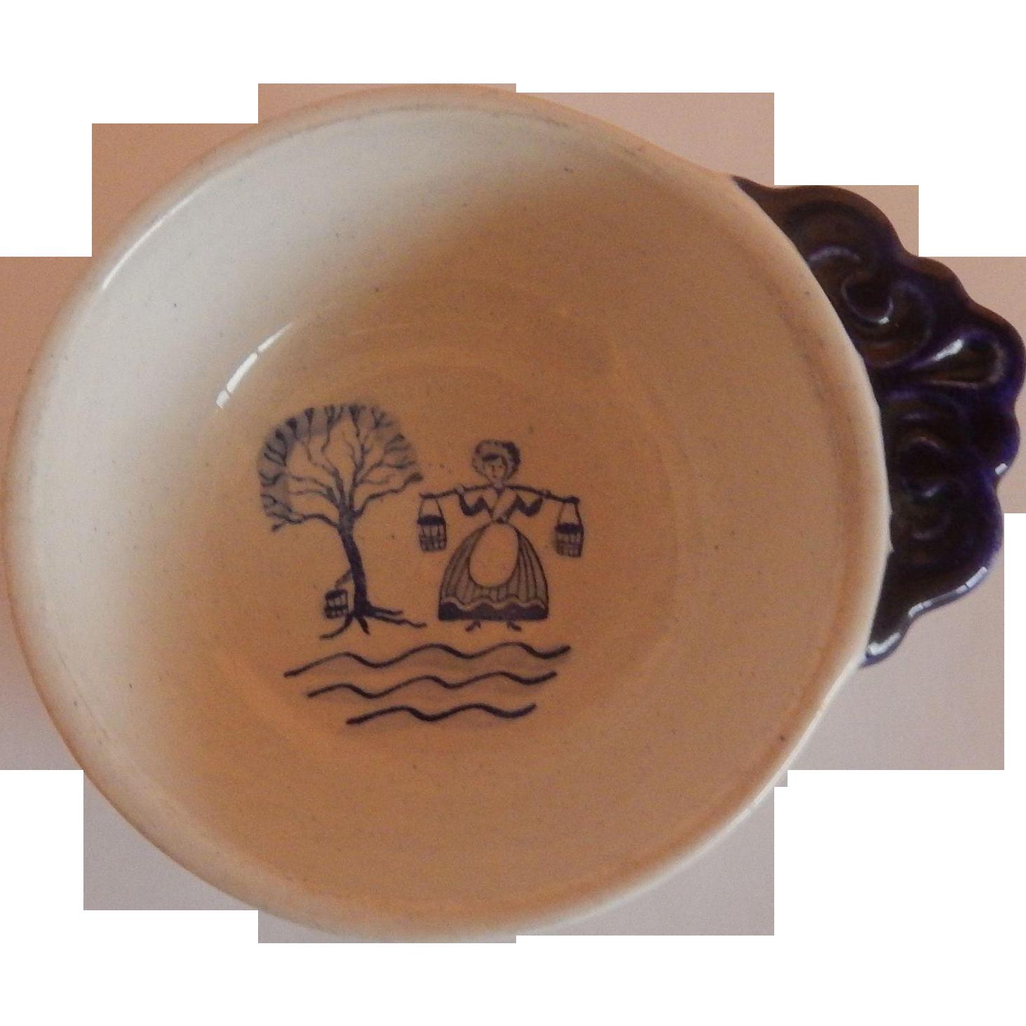 Metlox Poppytrail Homestead Provinicial Blue Soup Bowl