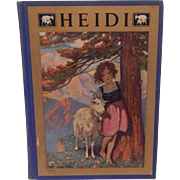 Heidi by Johnanna Spyri 1922