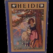 Heidi by Johnanna Spyri 1922
