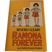 Beverly Cleary Ramona Forever 1984