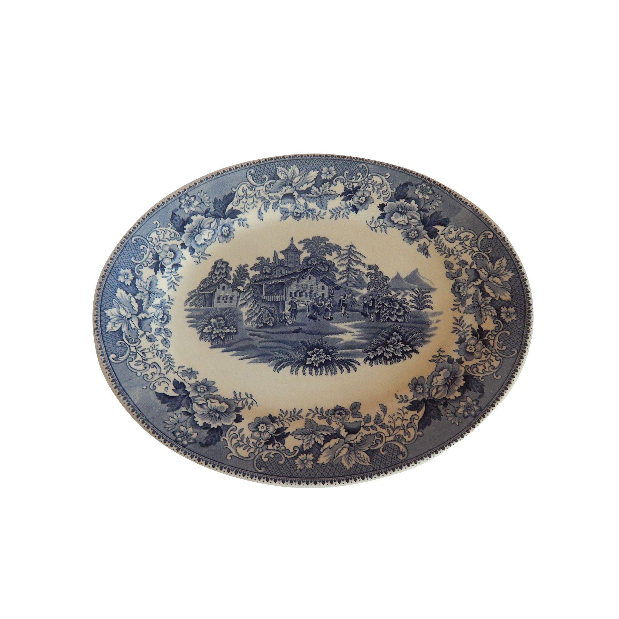 Thomas Hughes Avon Cottage Platter