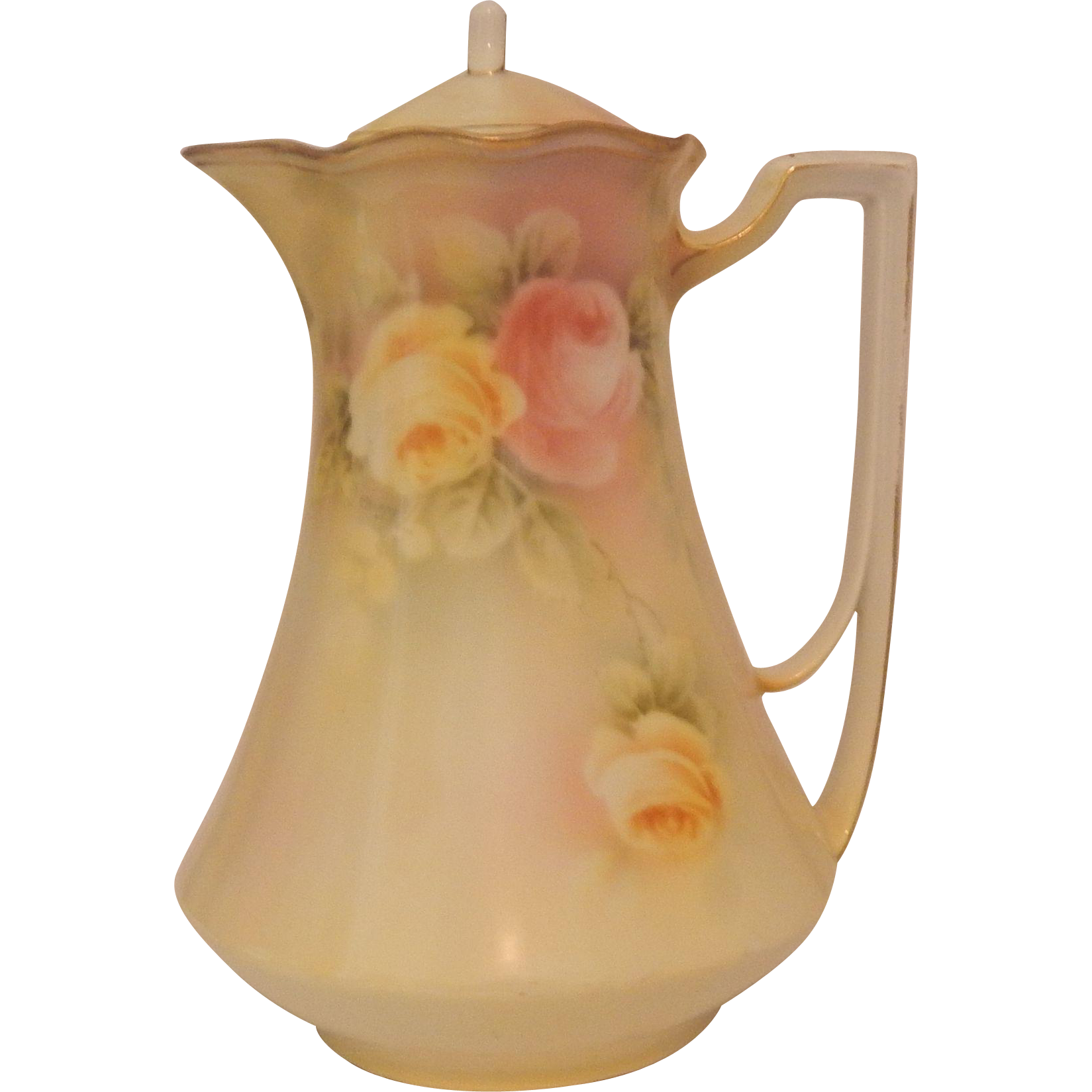 Bavarian Porcelain Coffee Pot