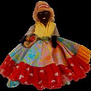 Trinidad Cloth Souvenir Doll