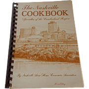 The Nashville Cookbook Cumberland Region 1988