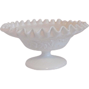 Westmoreland Bramble Maple Leaf Milkglass Dish