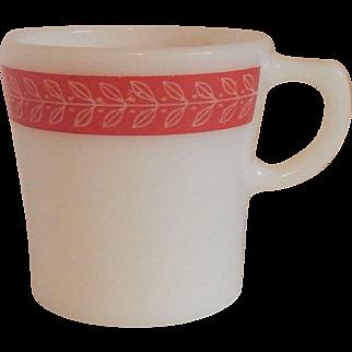 Pyrex Laurel Leaf Red Mug