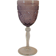 Amethyst Cristal D'Arques Water Goblet