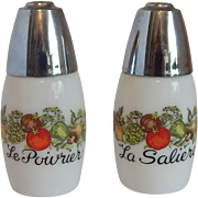 Gemco Spice Of Life Salt and Pepper Shakers