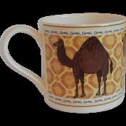 Wedgwood Porcelain Camel Mug