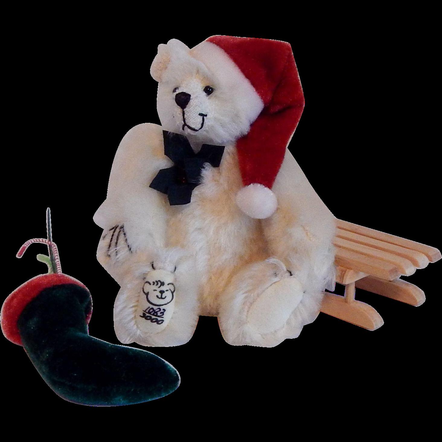 Mayfair Edition Chris Miniature Teddy Bear