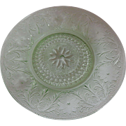 Tiara Exclusives Sandwich Chantilly Green Dinner Plate