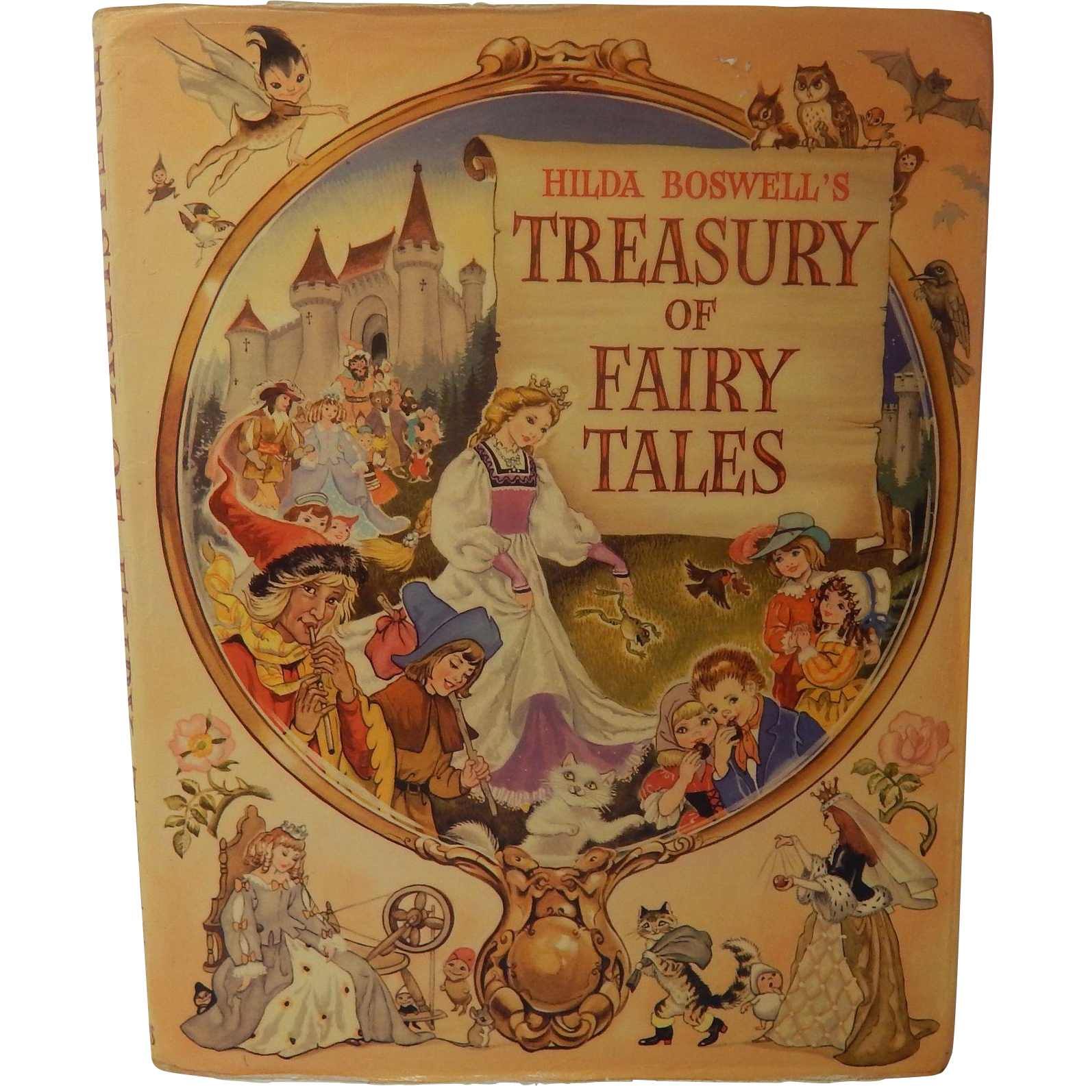 Hilda Boswell's Treasury Of Fairy Tales
