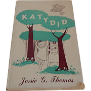 KatyDid by Jessie G. Thomas