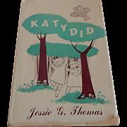 KatyDid by Jessie G. Thomas