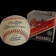 Rawlings R O Model Horsehide Baseball