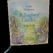 A Brighter Garden Emily Dickinson Tasha Tudor