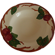 Franciscan China Apple Rimmed Soup Bowl US