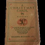 Dickens A Christmas Carol Book