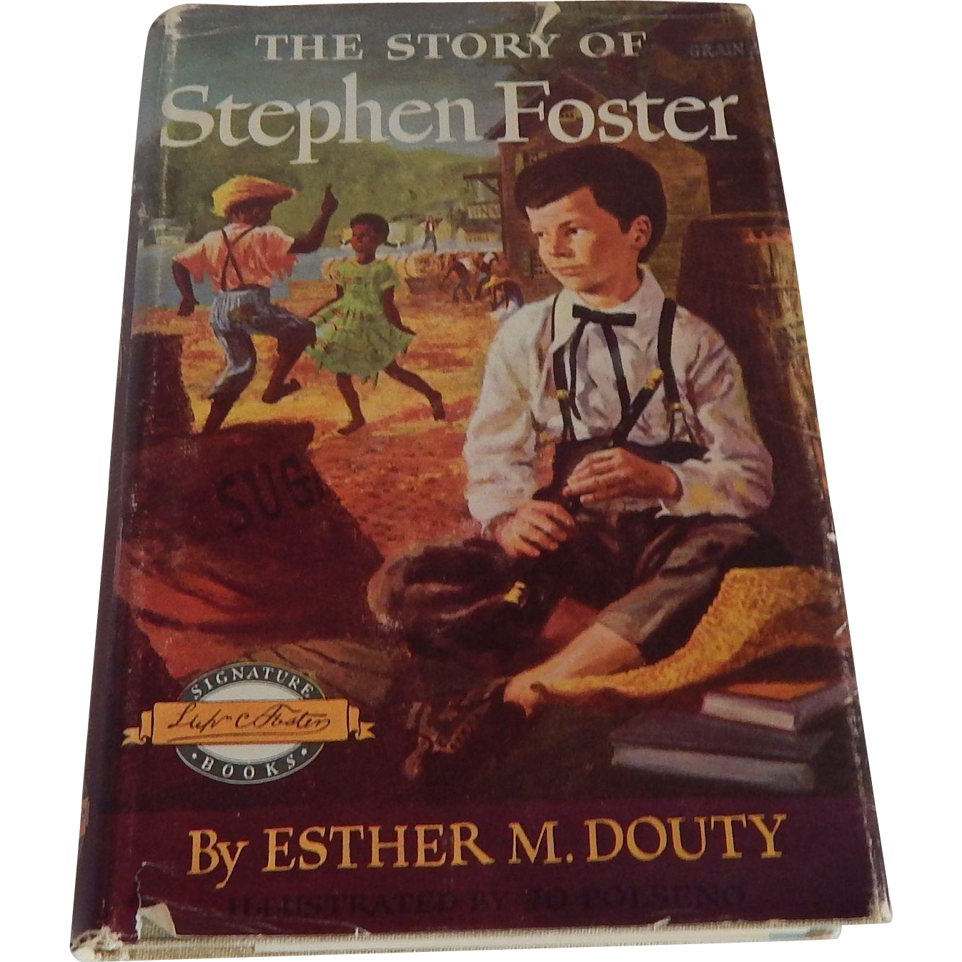 The Story Of Stephen Foster Signature Book
