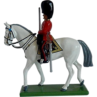 W Britain Toy Bristish Guard Mounted on Horse