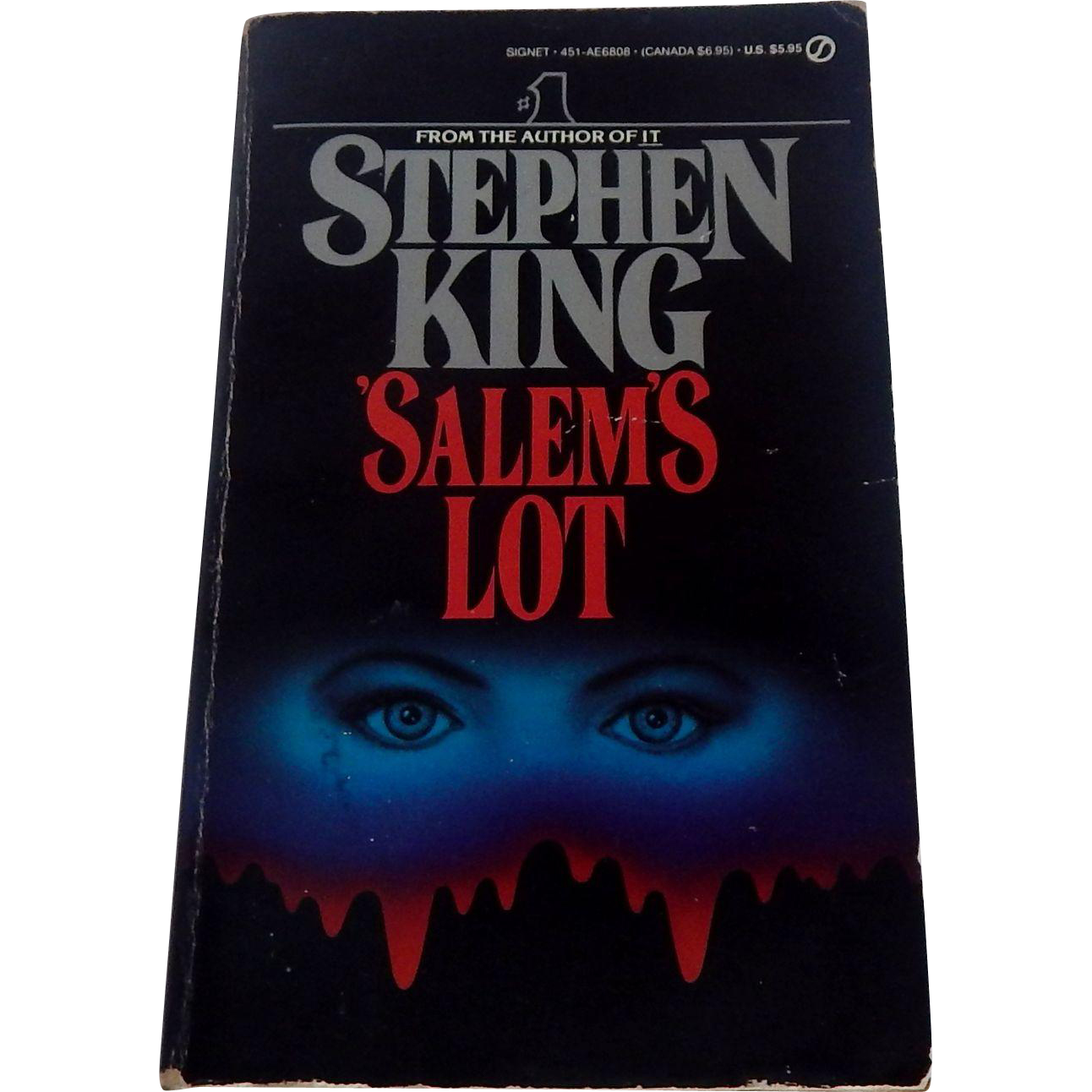 Stephen King Salem's Lot Paperback Book