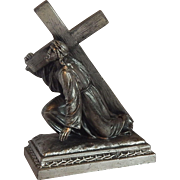 D.S.R. French Jesus Metal Statue