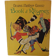 Deans  Mother Goose Book Of Rhymes