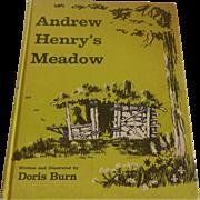 Andrew Henry's Meadow Doris Burn