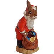 Royal Doulton Santa Bunnykin Happy Christmas