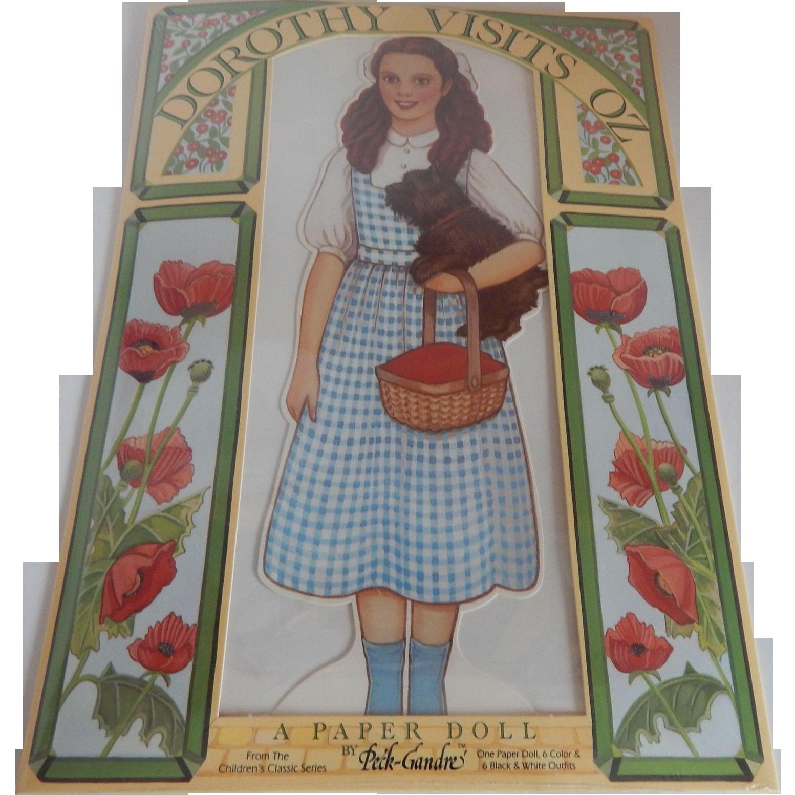 Peck-Gandre Paper Doll Dorothy Visits Oz