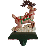 Midwest of Cannon Falls Reindeer Stocking Hanger