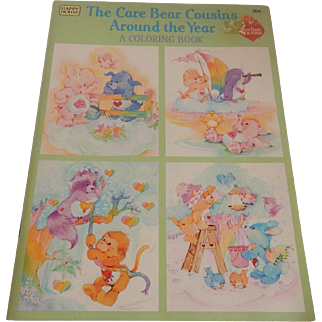 The Care Bear Cousins Around the Year Coloring Book