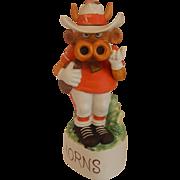 University of Texas Longhorn Mascot Mccormick Decanter