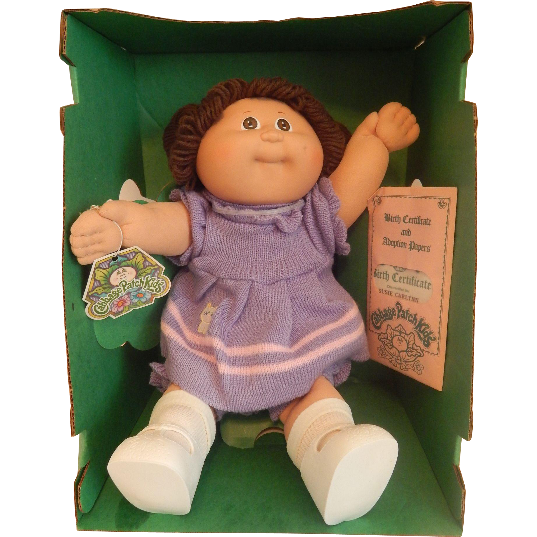 Cabbage patch kids doll 1984 from colemanscollectibles on ruby lane cabbage patch kids doll 1984 aiddatafo Images