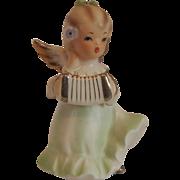 Angel Playing Accordion Figurine by Adriane