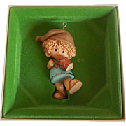 Hallmark 1980 Drummer Boy Christmas Ornament